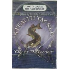 Stealth Tackle Fluorocarbon Leaders - 150 lb - 2 Pack