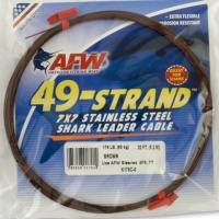AFW 175# 49 Strand Shark Leader Cable - 30 ft
