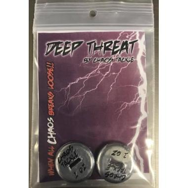 Chaos Tackle Deep Threat - 2 Pack