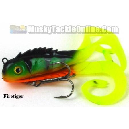Chaos tackle micro medussa 2 pack musky tackle online for Chaos fishing rods