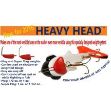 Musky Innovations Heavy Head - 2 Pack