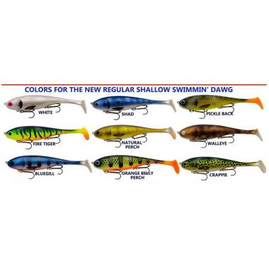 Musky Innovations Regular Shallow Swimmin' Dawgs