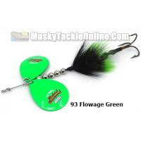 "Musky Mayhem 5"" Spring Rabid Squirrel - Double"