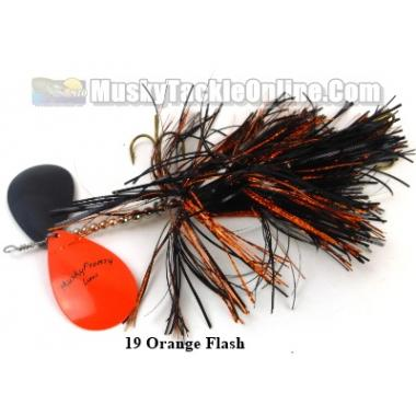 MuskyFrenzy Lures - Apache Double 10
