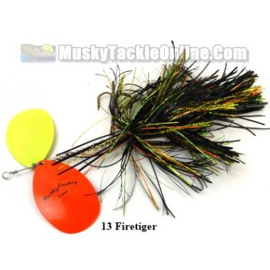 MuskyFrenzy Lures - Apache Double 12