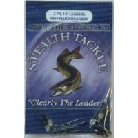 Stealth Tackle Fluorocarbon Leaders - 180 lb - 2 Pack