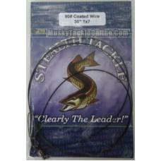 "Stealth Tackle Coated 7 Strand Trolling Leader 90 lb/36"" - 1 Pack"